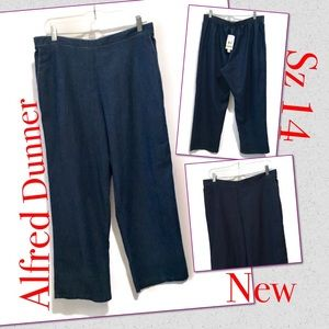 Alfred Dunner Women Jeans plus Sz 14 south Hampton